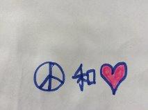Peace love tolerance